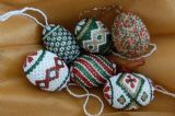 Indonesian Beaded Eggs special online price